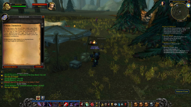 wow classic - border crossings walkthrough