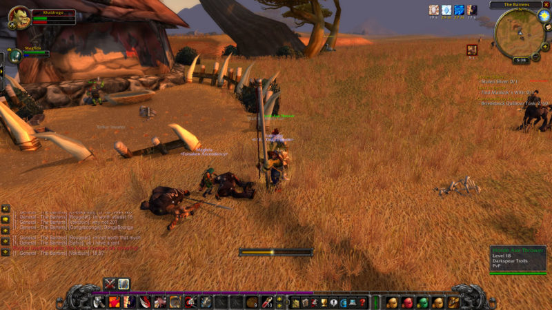 wow classic - counterattack tips
