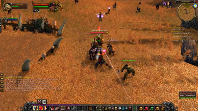 wow classic - counterattack walkthrough