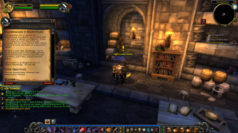wow classic -deathstalkers in shadowfang