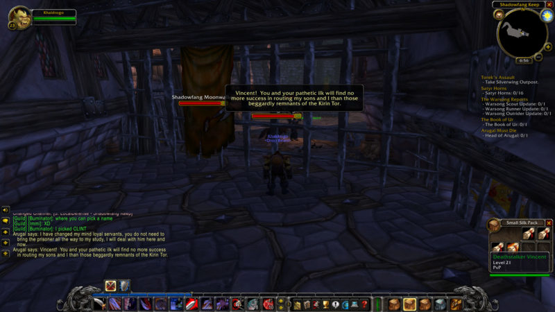 wow classic -deathstalkers in shadowfang guide