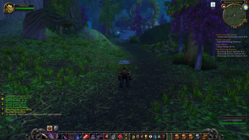 wow classic - how to go to ashenvale