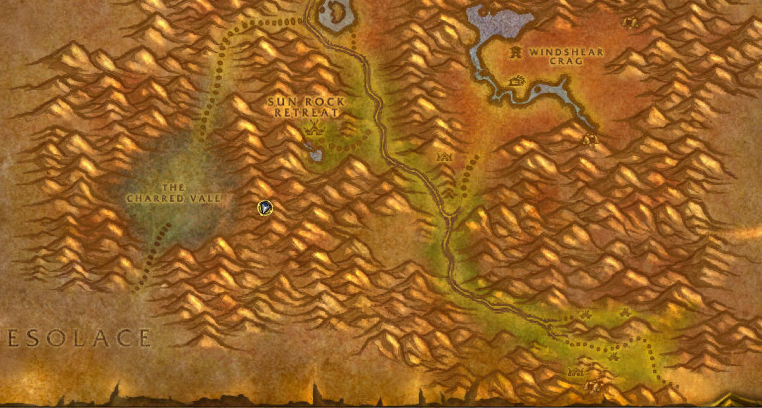 wow classic - how to go to desolace