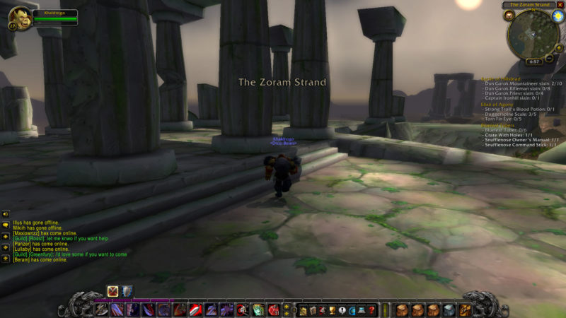 wow classic - je'neu of the earthen ring guide