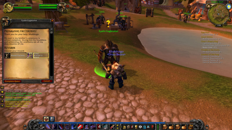 wow classic - preparation for the ceremony wiki