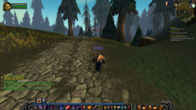 wow classic silverpine location - how to go there