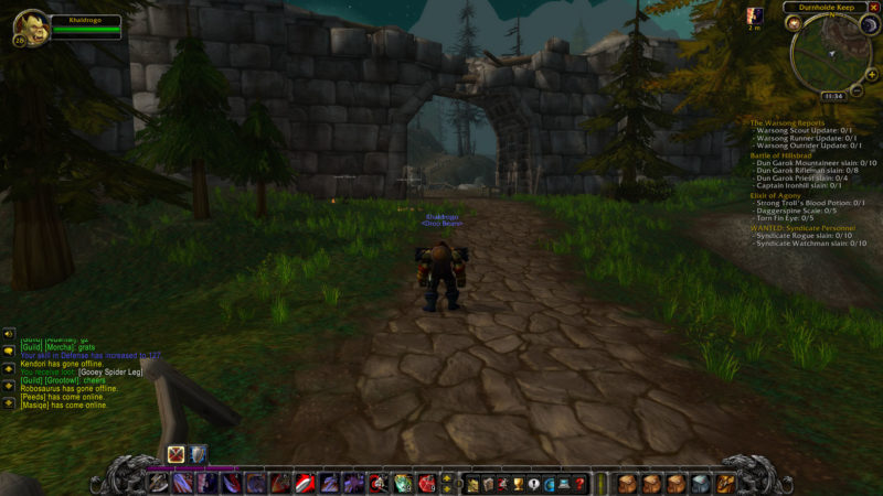 wow classic - wanted- syndicate personnel guide