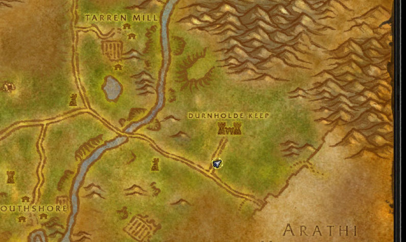wow classic - wanted- syndicate personnel location of keep