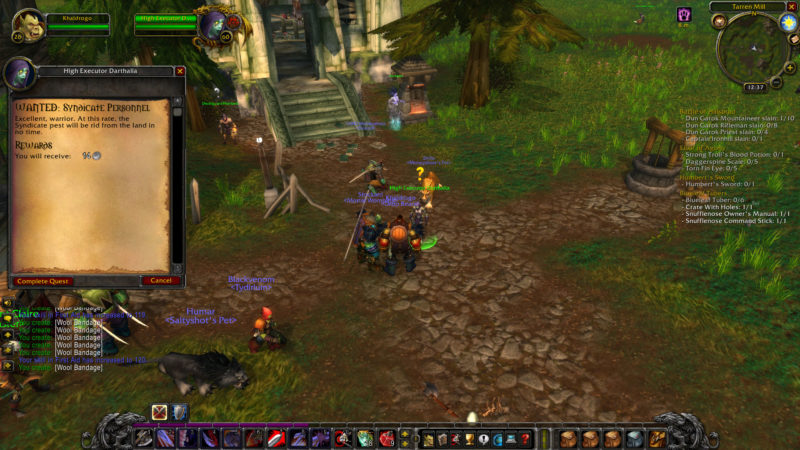 wow classic - wanted- syndicate personnel tips