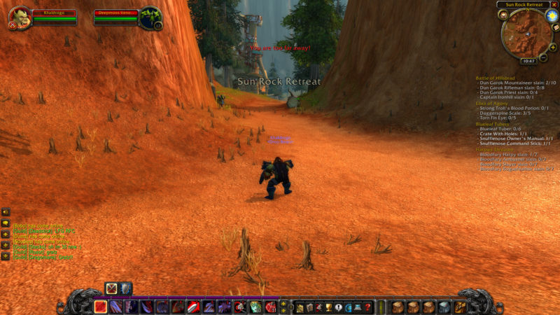 wow classic - where is wind rider in stonetalon mountains