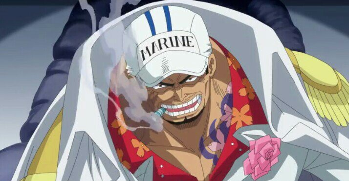 most powerful marines one piece