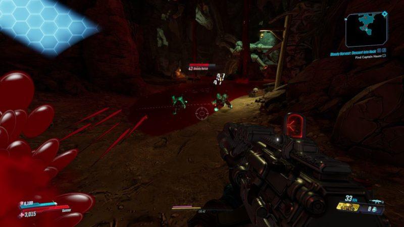 borderlands 3 - bloody harvest descend into heck mission wiki