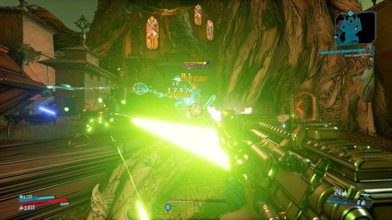 borderlands 3 - bloody harvest descend into heck quest walkthrough