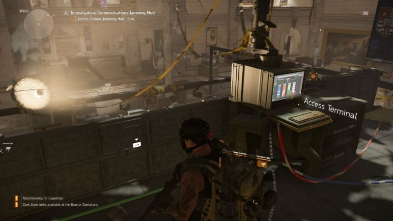 communications jamming hub - kenly student union - division 2 quest guide