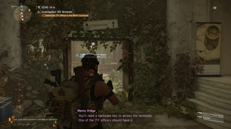 division 2 - kenly student union - ied terminals guide