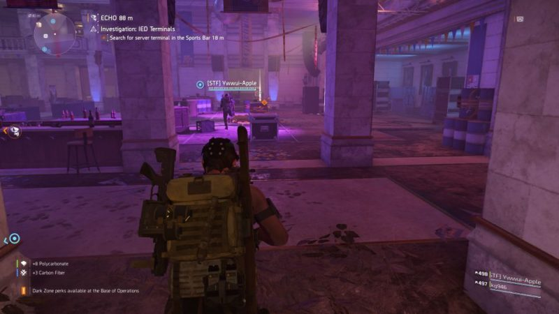 division 2 - kenly student union - ied terminals quest guide