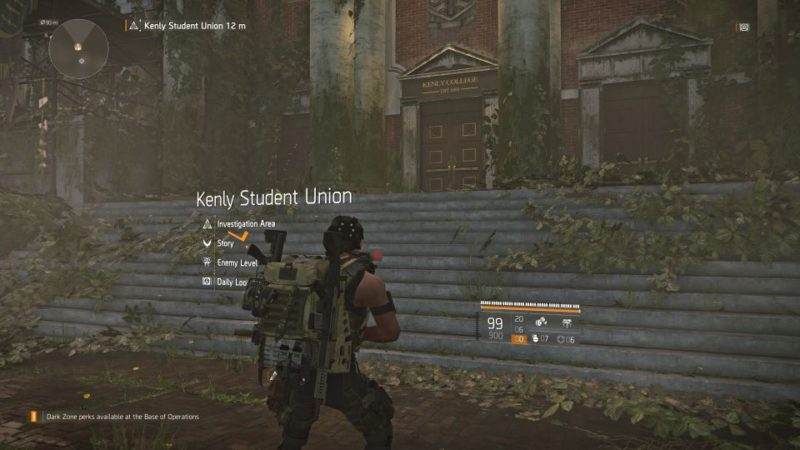 division 2 - kenly student union - jtf engineer guide