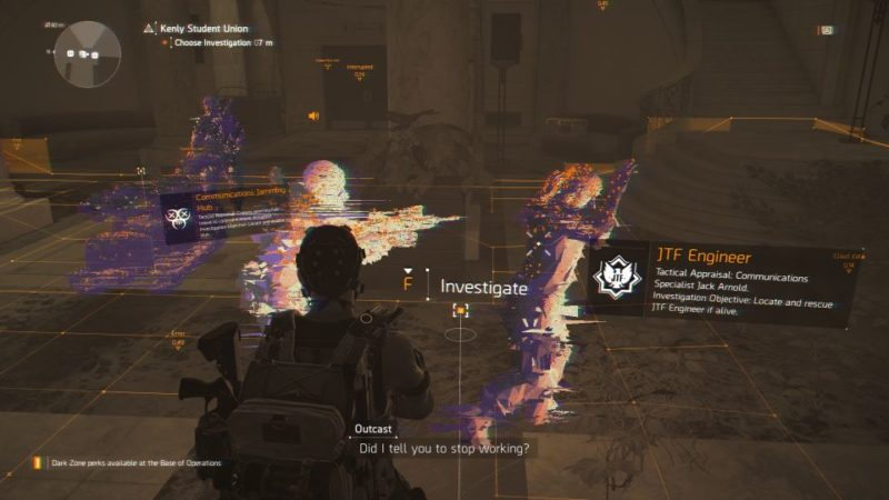 division 2 - kenly student union - jtf engineer guide and tips