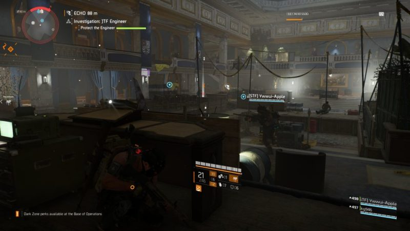 division 2 - kenly student union - jtf engineer mission guide
