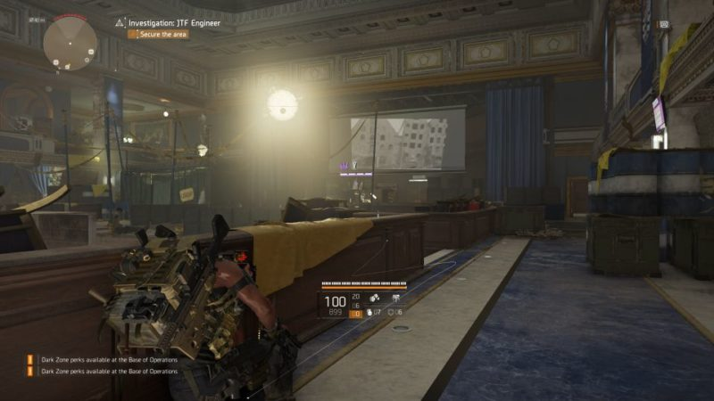 division 2 - kenly student union - jtf engineer quest guide