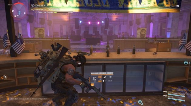 division 2 - kenly student union - jtf engineer walkthrough guide