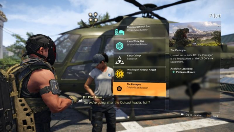 division 2 - pentagon breach guide