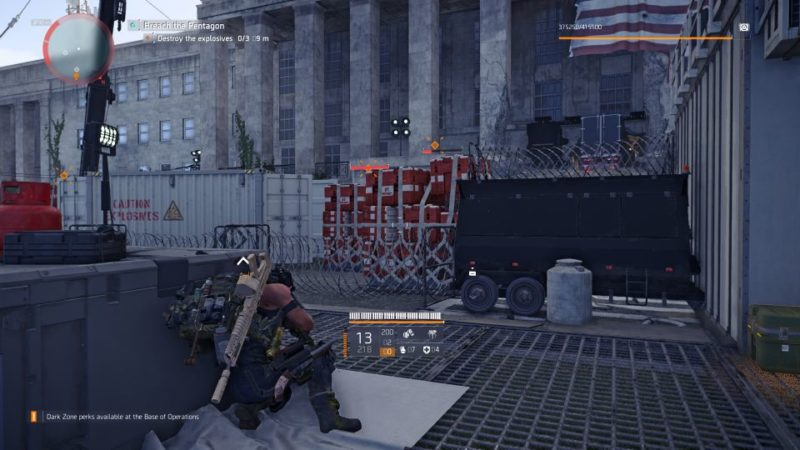 division 2 - pentagon breach mission tips