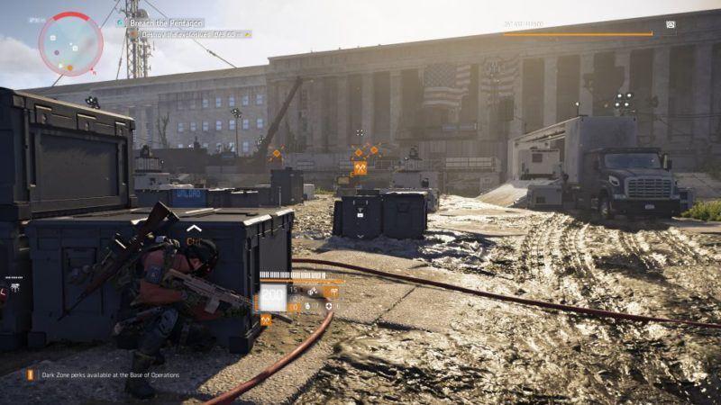 division 2 - pentagon breach mission wiki