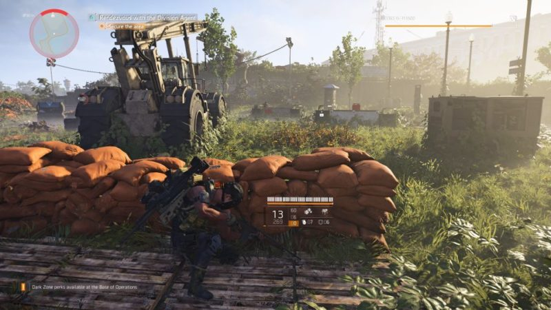 division 2 - pentagon breach side mission