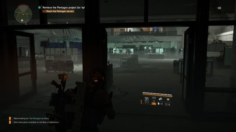 division 2 - the pentagon main mission