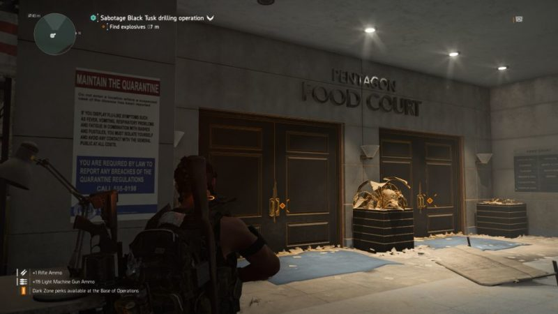 division 2 - the pentagon mission guide