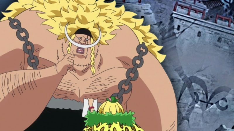 most powerful character in one piece who doesnt use devil fruit