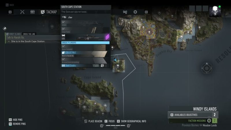 ghost recon breakpoint - cross the line guide