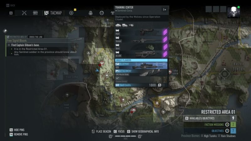 ghost recon breakpoint - cross the line quesr