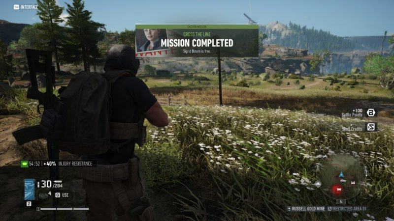 ghost recon breakpoint - cross the line tips