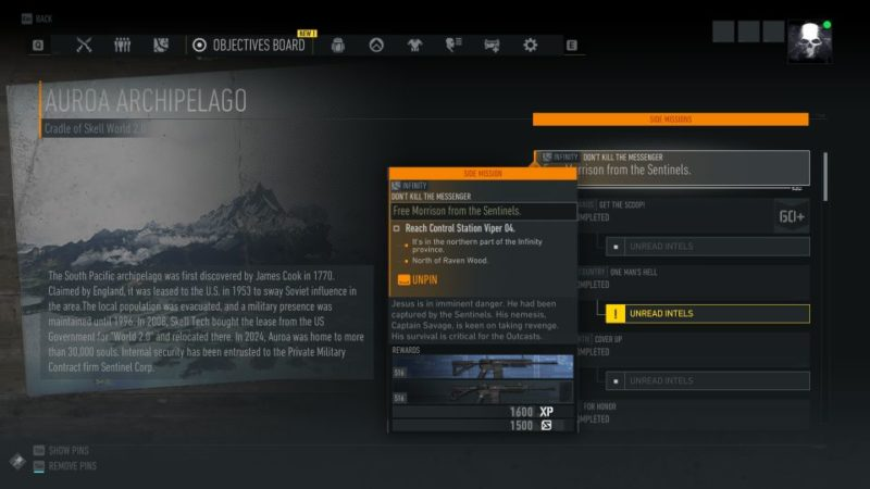 ghost recon breakpoint - dont kill the messenger