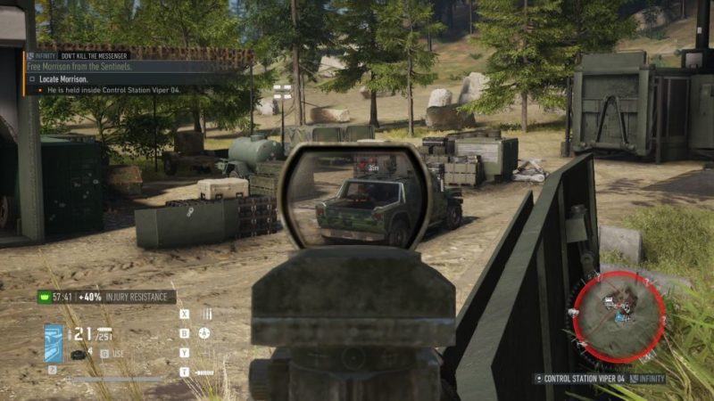 ghost recon breakpoint - dont kill the messenger quest