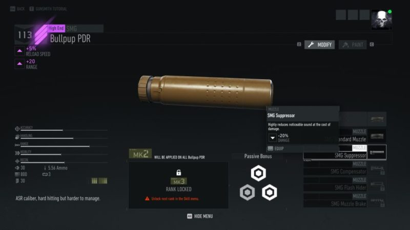 ghost recon breakpoint - how to use suppressor