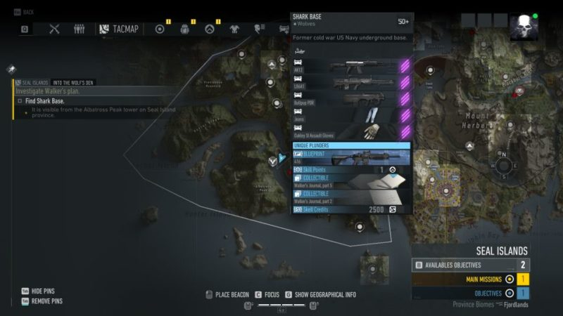 ghost recon breakpoint - into the wolf's den mission walkthrough
