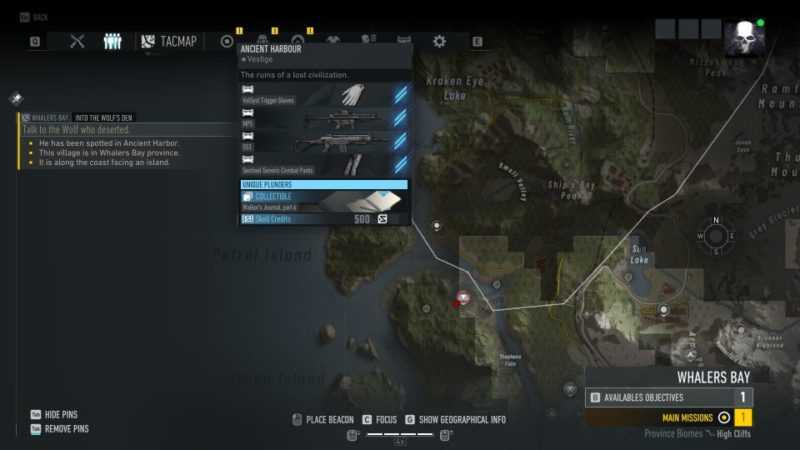 ghost recon breakpoint - into the wolf's den quest