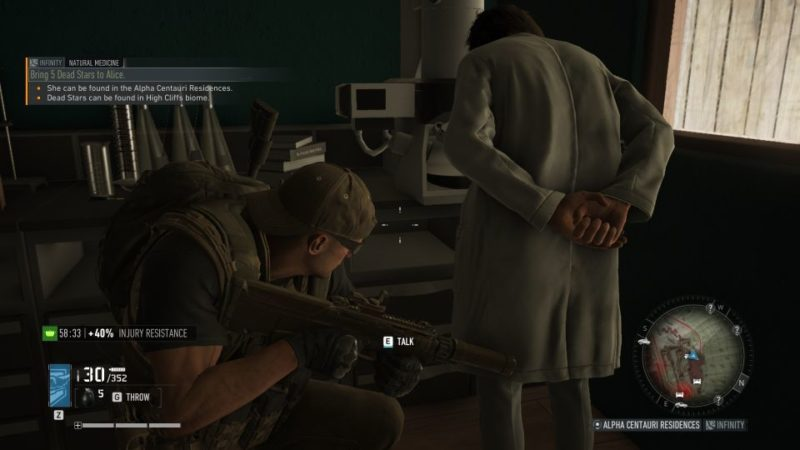 ghost recon breakpoint - natural medicine mission