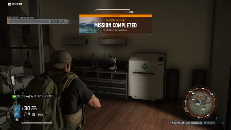 ghost recon breakpoint - natural medicine tips