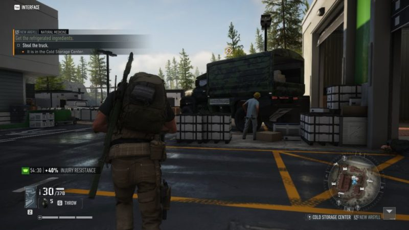 ghost recon breakpoint - natural medicine walkthrough and guide