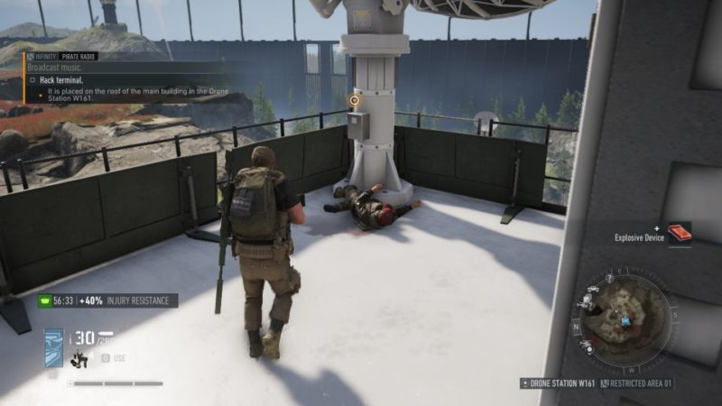 ghost recon breakpoint - pirate radio mission