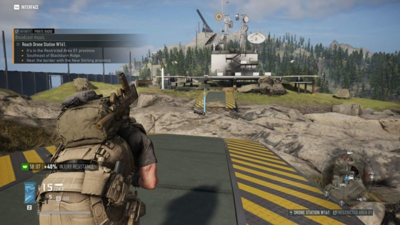 ghost recon breakpoint - pirate radio quest guide