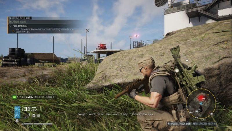 ghost recon breakpoint - pirate radio quest walkthrough