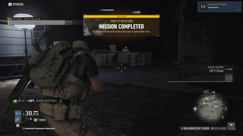 ghost recon breakpoint - point of no return tips