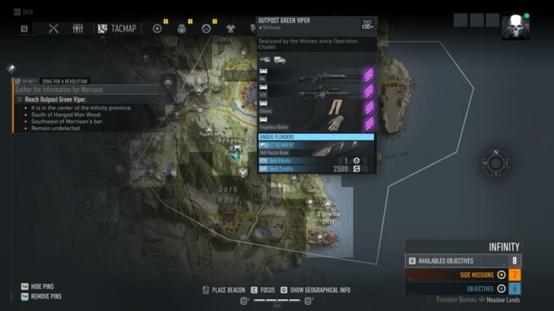 ghost recon breakpoint - song for a revolution mission