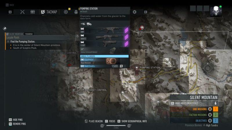 ghost recon breakpoint - tovarish mission walkthrough
