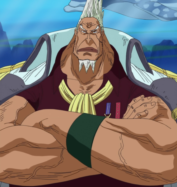 top 10 marines in strength one piece